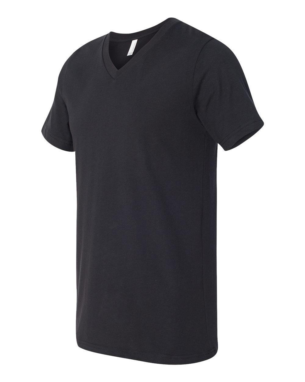 Bella-Canvas-Men-039-s-Jersey-Short-Sleeve-V-Neck-T-Shirt-3005-XS-3XL thumbnail 103