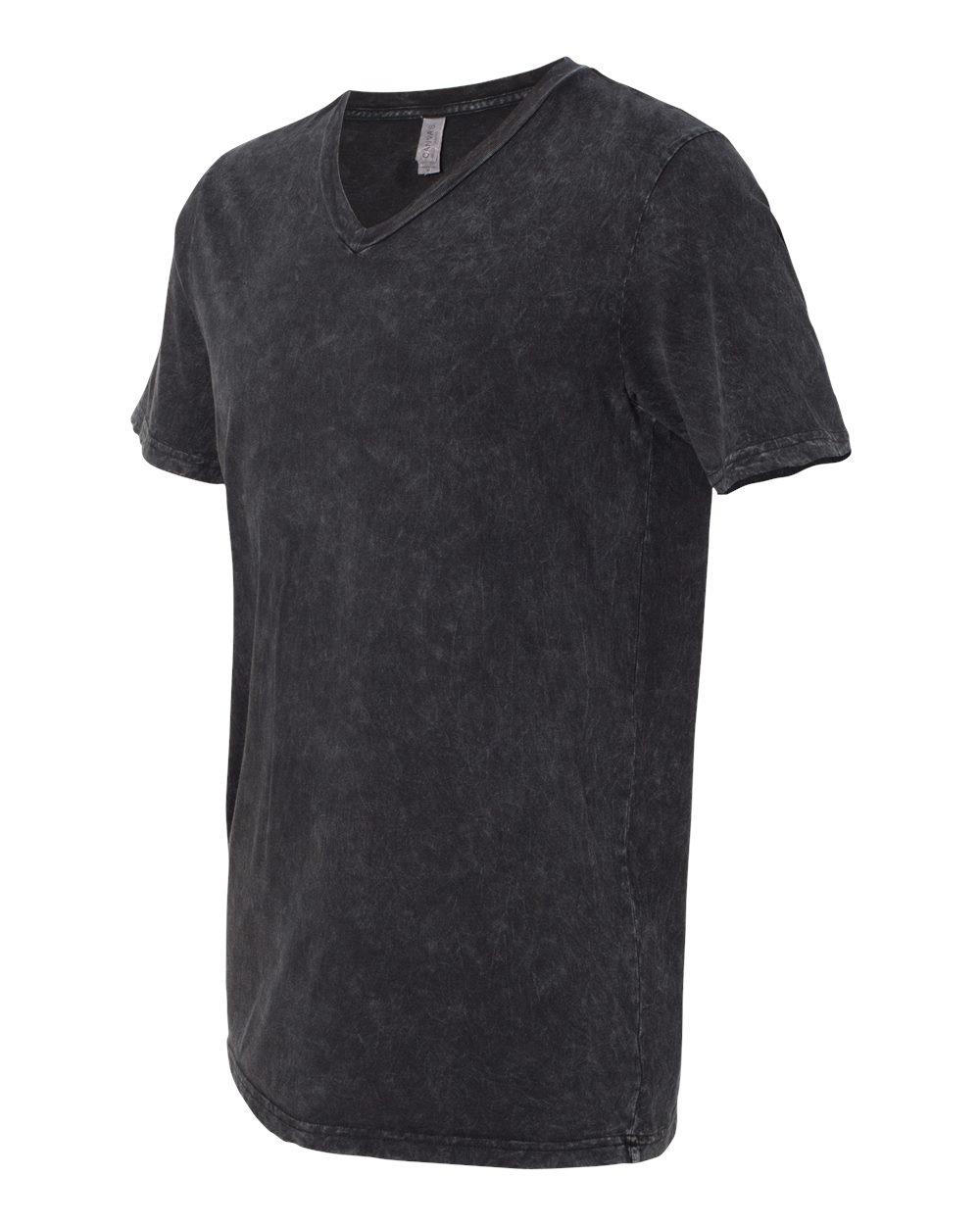 Bella-Canvas-Men-039-s-Jersey-Short-Sleeve-V-Neck-T-Shirt-3005-XS-3XL thumbnail 79