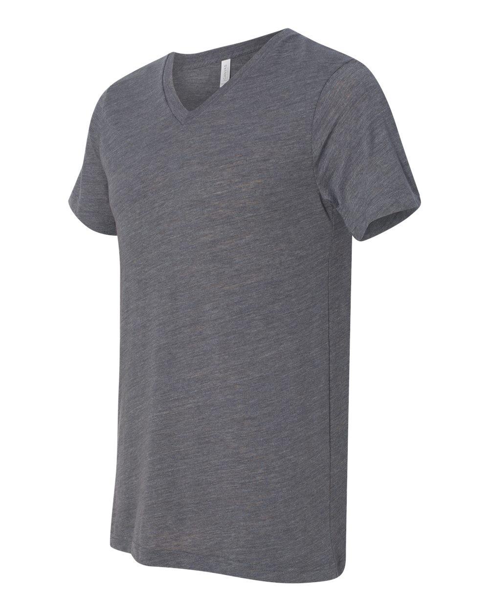 Bella-Canvas-Men-039-s-Jersey-Short-Sleeve-V-Neck-T-Shirt-3005-XS-3XL thumbnail 85