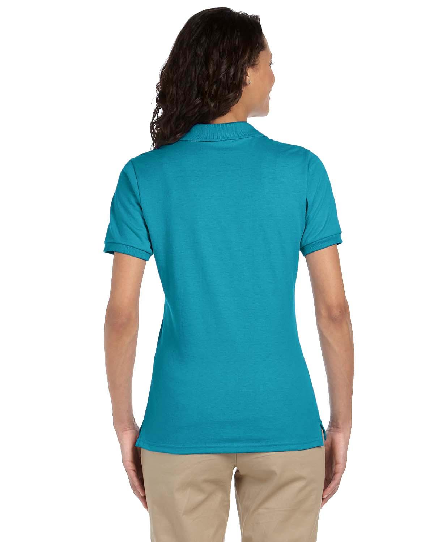 Jerzees-Women-039-s-5-6-oz-50-50-Jersey-Polo-with-SpotShield-437W-S-2XL thumbnail 13