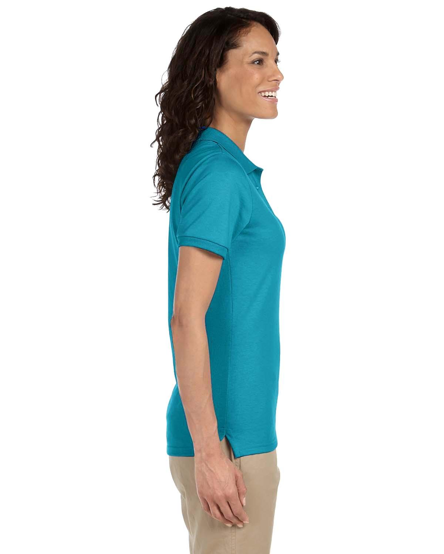 Jerzees-Women-039-s-5-6-oz-50-50-Jersey-Polo-with-SpotShield-437W-S-2XL thumbnail 12
