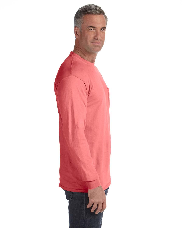 Comfort-Colors-Men-039-s-6-1-oz-Long-Sleeve-Pocket-T-Shirt-C4410-S-3XL thumbnail 29