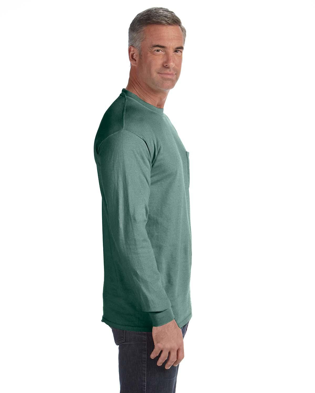 Comfort-Colors-Men-039-s-6-1-oz-Long-Sleeve-Pocket-T-Shirt-C4410-S-3XL thumbnail 21