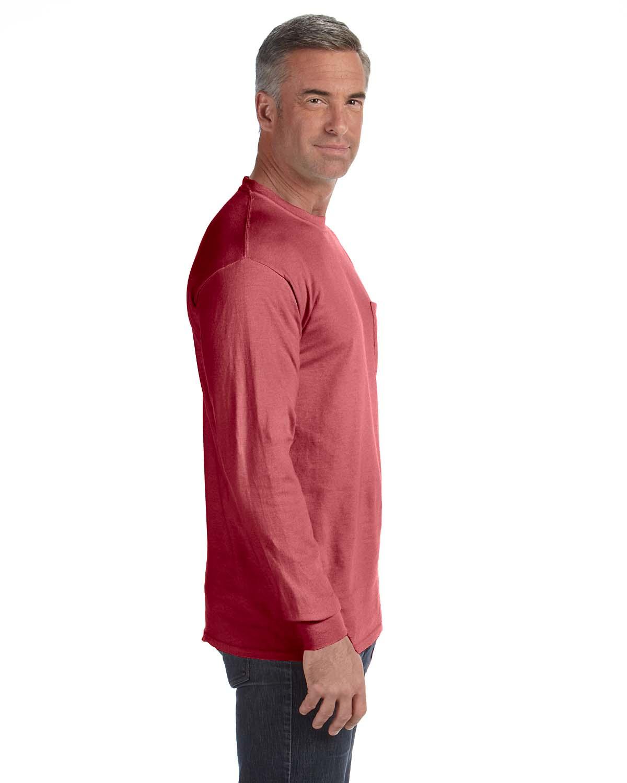 Comfort-Colors-Men-039-s-6-1-oz-Long-Sleeve-Pocket-T-Shirt-C4410-S-3XL thumbnail 35