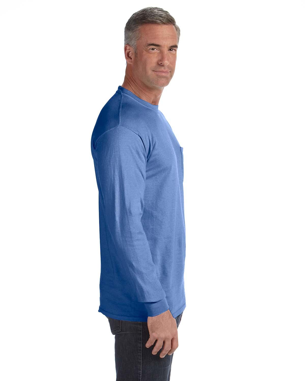 Comfort-Colors-Men-039-s-6-1-oz-Long-Sleeve-Pocket-T-Shirt-C4410-S-3XL thumbnail 15