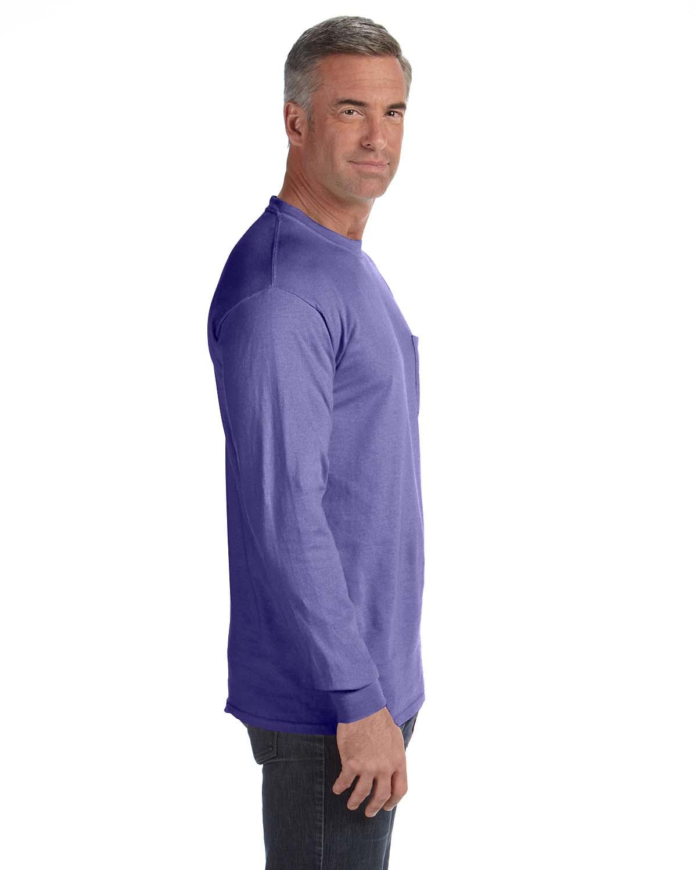 Comfort-Colors-Men-039-s-6-1-oz-Long-Sleeve-Pocket-T-Shirt-C4410-S-3XL thumbnail 24