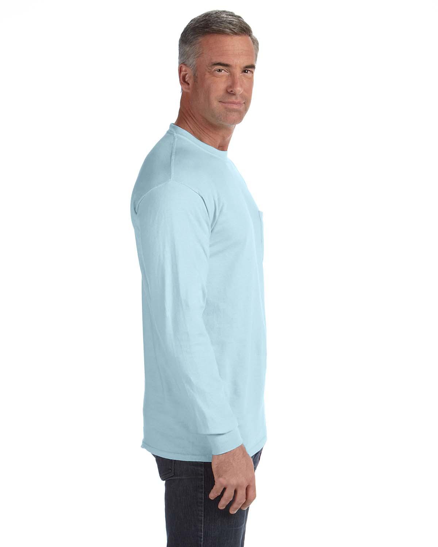 Comfort-Colors-Men-039-s-6-1-oz-Long-Sleeve-Pocket-T-Shirt-C4410-S-3XL thumbnail 9