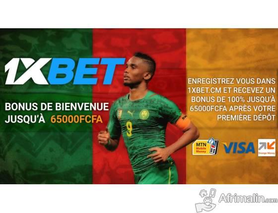 Pariez sur le sport au Cameroun avec 1XBET