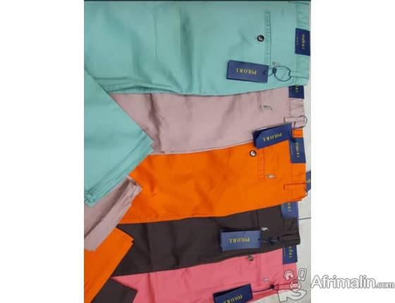 Vente des vêtement hommes :pantalon,polo et culotte