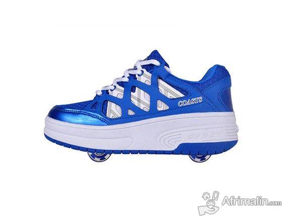 Chaussure sportif à patin roulette marque LEOCI