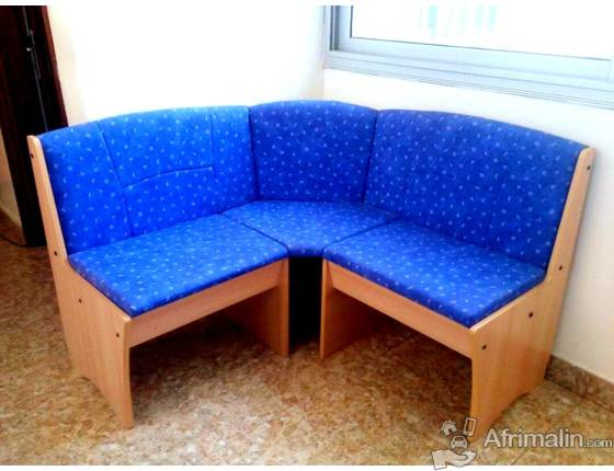 Fauteuil angle 3places