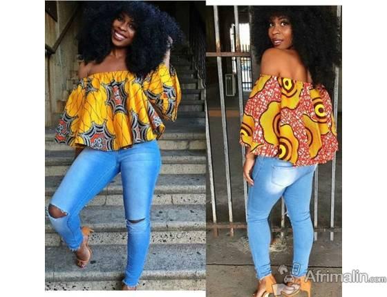 Top Wax Femme Pikine Region De Dakar Senegal Vetements Pour Femmes Sur Afrimalin