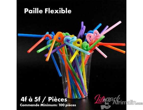 Paille flexible