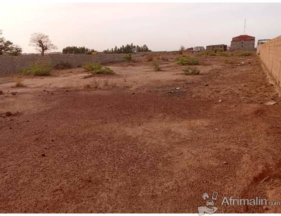terrain de 1075m² à vendre Ouaga 2000
