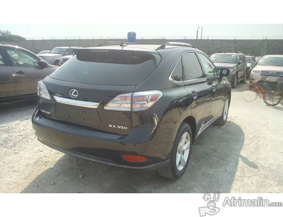 lexus rx 350 ann e 2010 cotonou r gion du littoral b nin voitures sur afrimalin. Black Bedroom Furniture Sets. Home Design Ideas