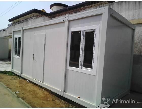 Maison pr fabriqu e conteneur pr fabriqu abidjan r gion d 39 abidjan c te d 39 ivoire bureaux for Prefabrique maison