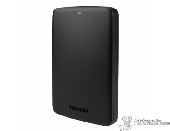 Disque dur externe portable TOSHIBA Canvio 1 To USB 3.0 / USB 2.0
