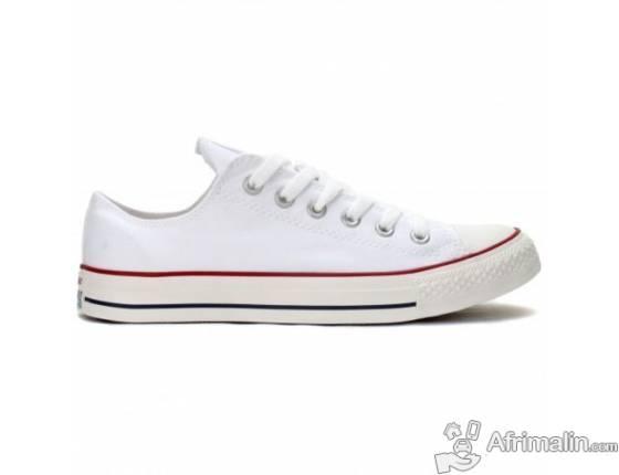 Converse Allstar coupé blanc - toutes pointures