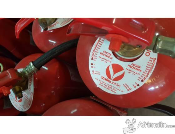 Distribution Extincteurs d'incendie Maroc