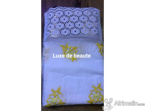 Voile brode 100%cotton
