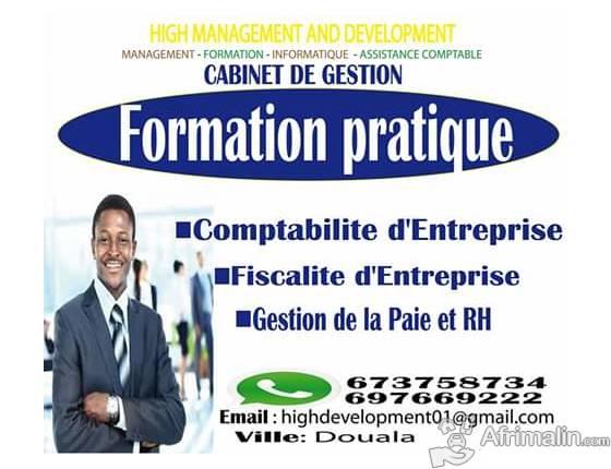 Formation pratique '' Comptabilité d'entreprise, Fiscalité, Paie et Rh