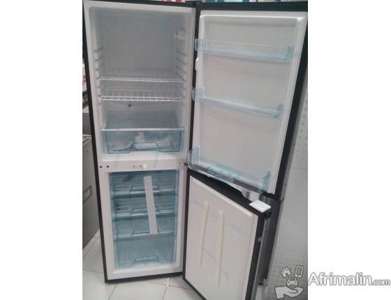 Réfrigérateur Combiné 330L SOLSTAR RF330 - Gris