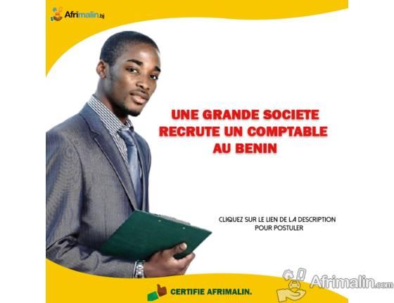 UNE GRANDE SOCIÉTÉ RECRUTE UN COMPTABLE AU BENIN