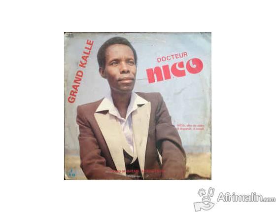 Disque Vinyle Franco, DrNico, Simaro,music traditionelle etc