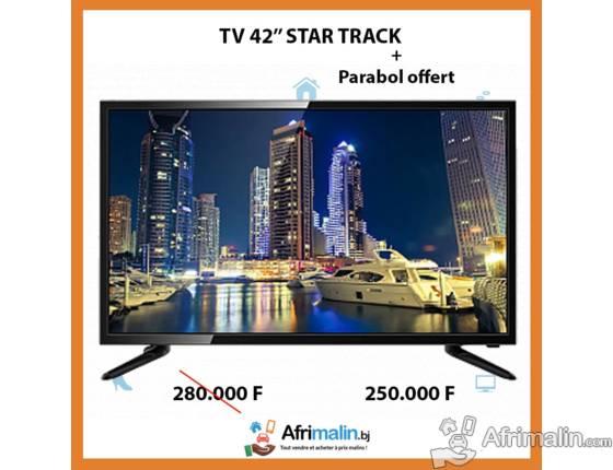 """TV Star Track 42"""" décodeur intégré (Parabole offerte)"""
