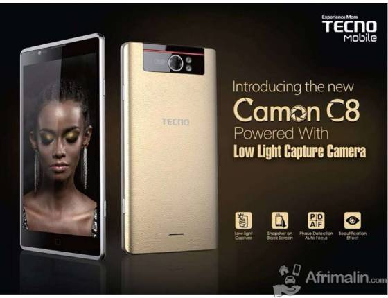 vente de t l phone tecno c8 conakry r gion de conakry guin e smartphones t l phones sur. Black Bedroom Furniture Sets. Home Design Ideas