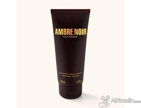 YVES ROCHER Ambre Noir - Gel Douche Corps et Cheveux