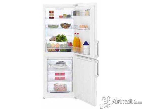 Réfrigérateur Combiné 253L BEKO CS 131020 - Blanc
