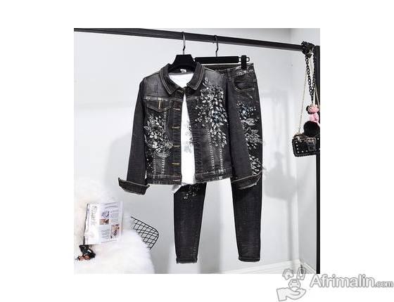 Vêtement : complet jeans