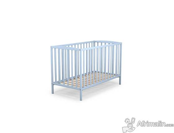 AT4 Lit à barreaux bébé Bleu