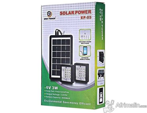 Kit éclairage solaire