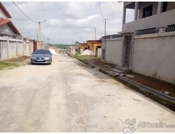 Vente grande villa basse sur 400 m² à Bingerville