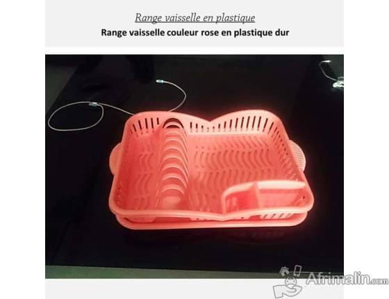 Range vaisselle en plastique