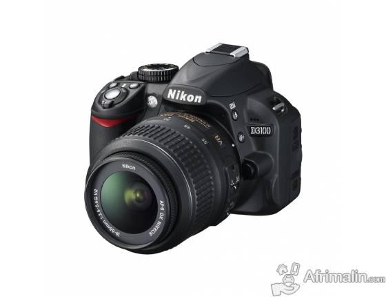 Nikon – D3100 + Obj. 18-55mm