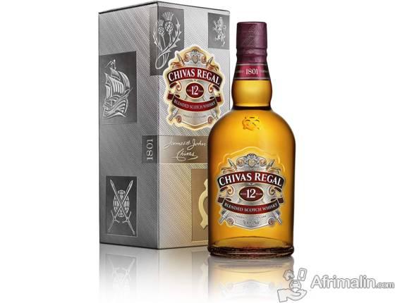 Boisson:  Whisky Chivas Régal 12 ans