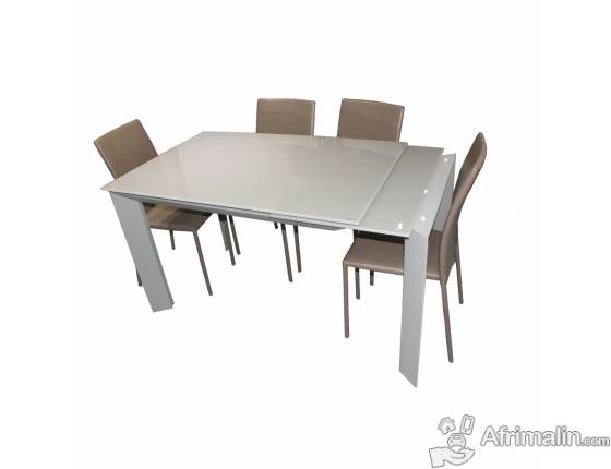 Table salle à manger extensible TSM-RF1073DT