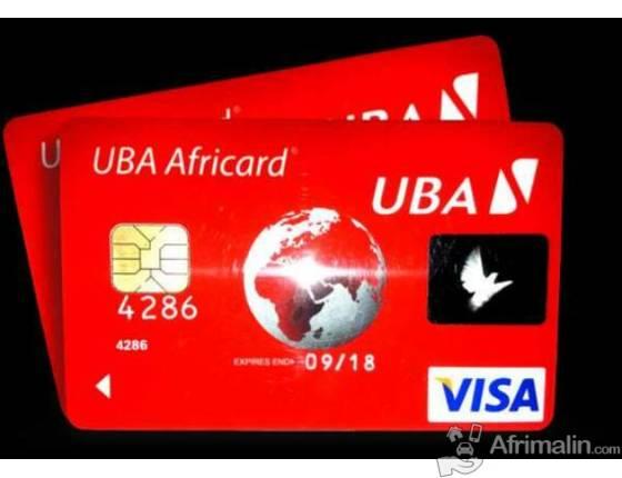 La Carte Visa Uba