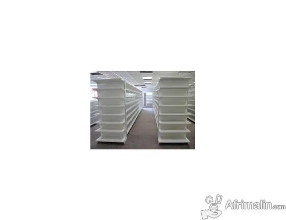 étagère gondole rayonnage