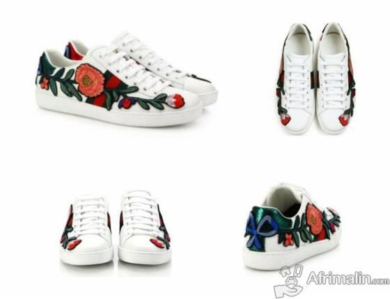 9d823b4e2ee Baskets Gucci Fleur