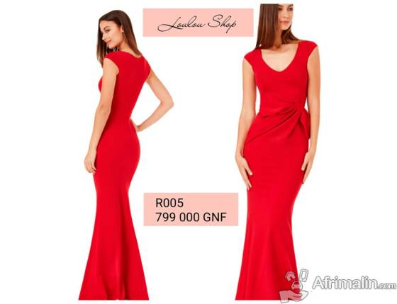 Robe rouge a vendre