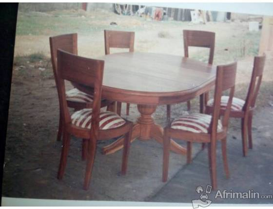 Vente Et Fabrication Table A Manger Chaises  Abidjan Rgion D