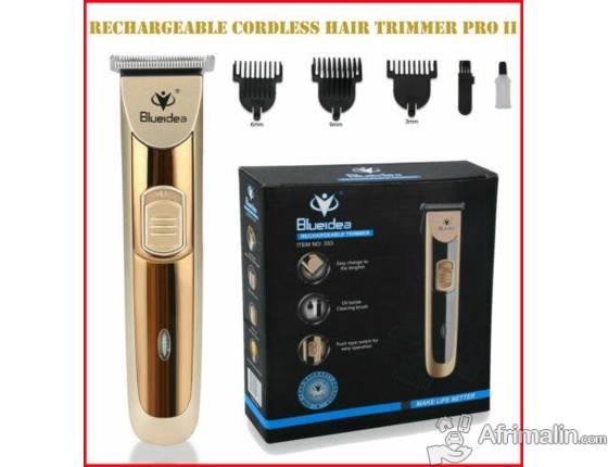 Tondeuse rechargeable.