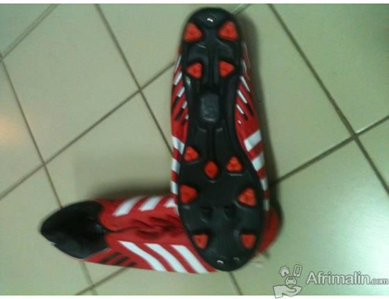 Chaussure de foot rouge - toutes pointures