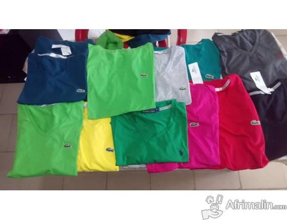 Shirt Lacoste D Arrivage AbidjanRégion Tee Ralph Laurenamp; Rj34Ac5Lq