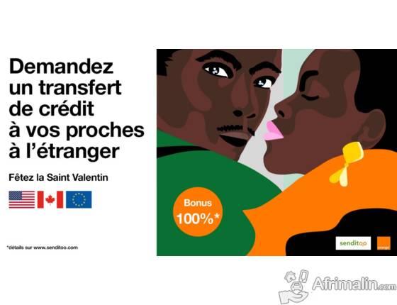 Demandez un transfert de crédit à vos proches à l'étranger