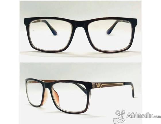 Des lunettes photographié anti-reflet sans correction